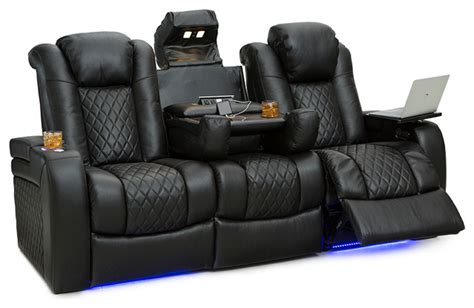 Home Theater Seating Power Recline by Seatcraft Anthem Home Theater Seating Leather Power