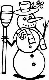 Coloring Winter Pages Printable Snowman Simple Clipart Sheets Sheet Holiday Pages17 Season 1000 Printables Cliparts Z31 Worksheets Disney Clip Fun sketch template