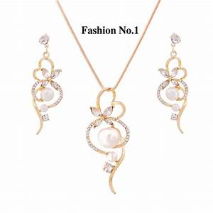 Free Shipping wholesale Trendy Jewelry Sets Gold and ...