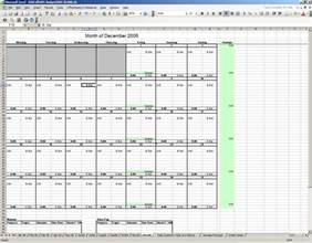 Excel Weekly Budget Spreadsheet Monthly Template