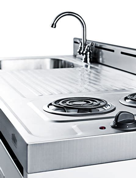 all in one kitchen sink and stove all in one combination kitchenettes summit appliance