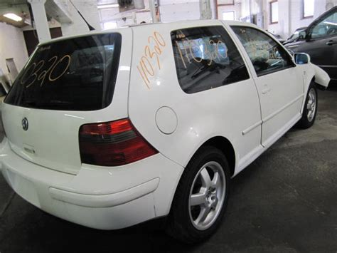 how make cars 2001 volkswagen golf regenerative braking parting out 2001 volkswagen golf stock 110320 tom s foreign auto parts quality used auto