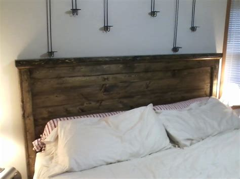 ana white rustic head board diy projects