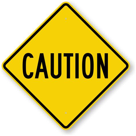 caution sign template printable construction signs clipart best