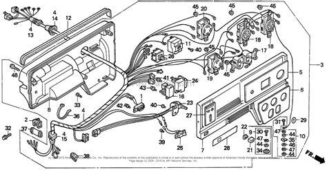 honda eb3500x a generator jpn vin ea6 3000001 parts diagram for box eb3500x