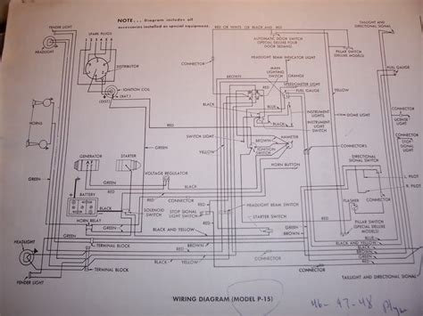 1947 Dodge Wiring Diagram by 1966 Dodge Wm300 4 X 4 Truck Starter Wiring Rod
