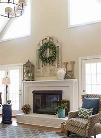 fireplace mantel decorating ideas 16 Fireplace Mantel Decorating Ideas | Futurist Architecture