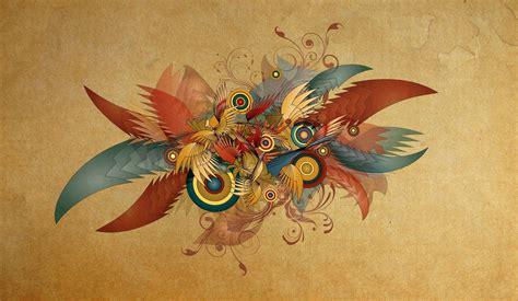 abstract feather digital art wallpapers hd desktop