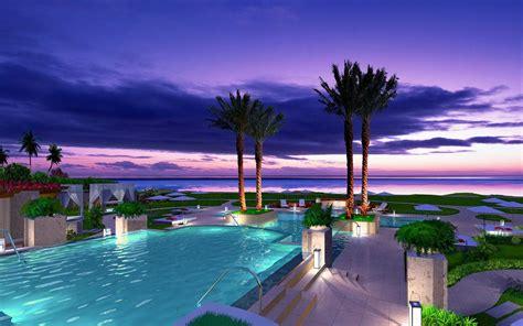 paradise vacation hd desktop wallpaper widescreen