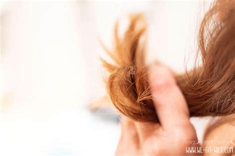 haare trocken und strohig trockene haare diese 11 sos tipps retten dein haar we