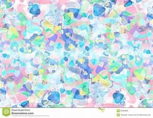 Abstract Heart Blue Purple Green Colorful Bokeh Wallpaper ...