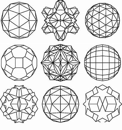 Geometric Pages Coloring Shapes Printable Designs Adults