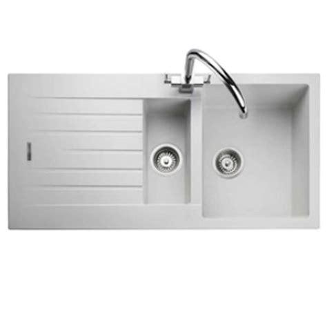 rangemaster andesite  crystal white igneous sink
