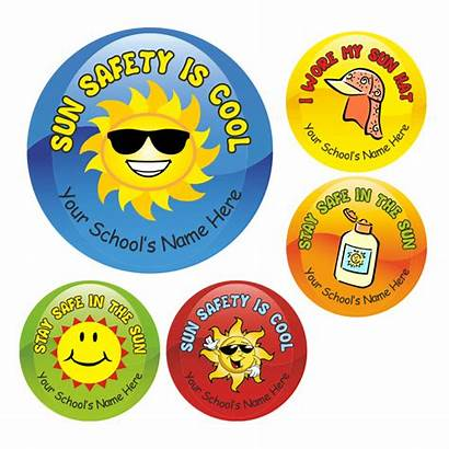 Stickers Safety Sun Teachers Views
