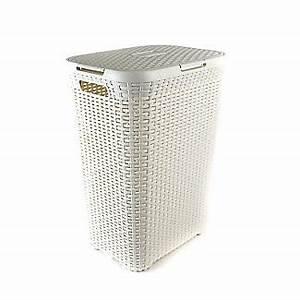 Rattan Box Mit Deckel : curver w schekorb mit deckel in rattan optik 60 l creme lakeland de ~ Bigdaddyawards.com Haus und Dekorationen