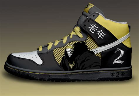 Barragan Custom Nike Dunks By Azrael-haze On Deviantart