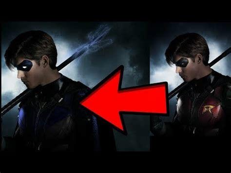 titans   robin  nightwing youtube