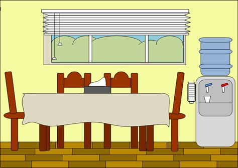 Dining Room Clipart Images by Diningroom Free Images At Clker Vector Clip