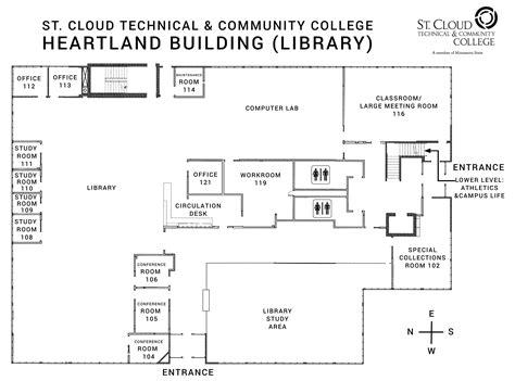 campus maps st cloud technical community college