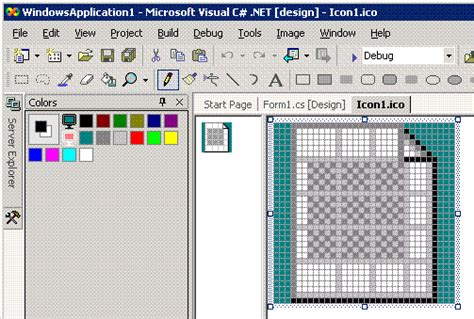 ms paint code java how to create icon files for your windows app using visual studio and microsoft paint codeproject