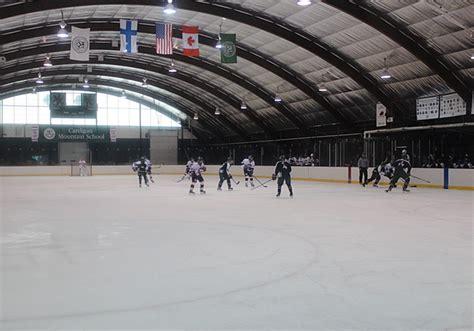 custom ice rinks arenas