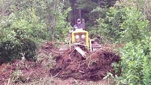 John Deere 440 Crawler  Making A Trail