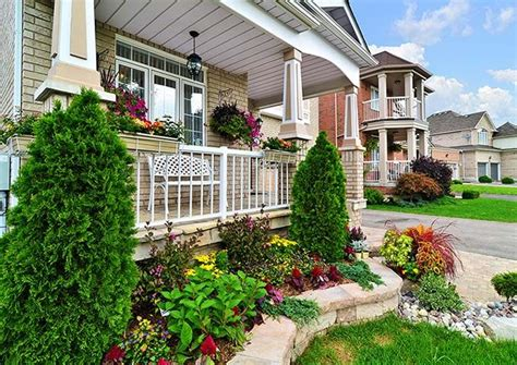 front porch landscape landscaping ideas front porch webzine co