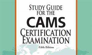 Cams Certification Review  Acams Cost  Exam Questions
