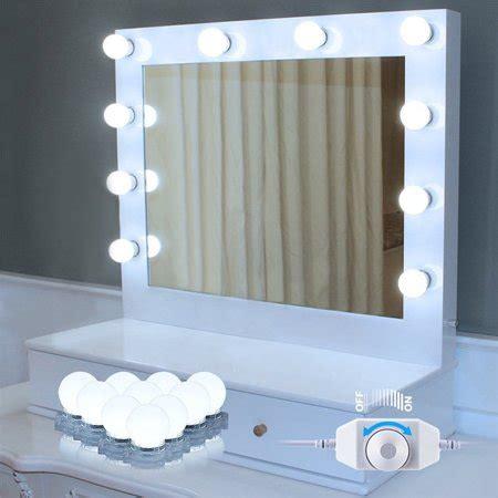 Bathroom Mirror Light Bulbs by Style Led Vanity Mirror Lights 10 Led Bulbs Kit