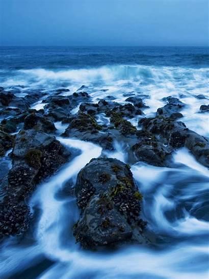 Iphone 5s Waves Rocks
