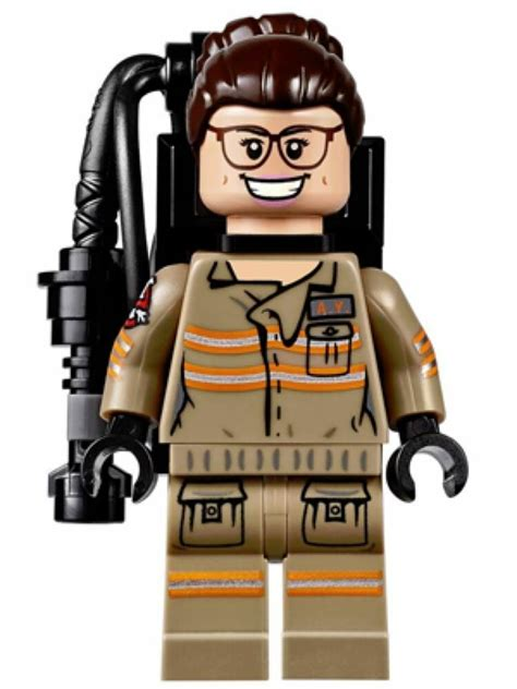 Lego Proton Pack by Lego Ghostbusters Abby Yates Minifigure W Proton Pack