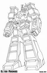 Magnus Rescue Bots Ultramagnus Ajs sketch template
