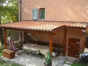 Tettoie fai da te Pergole e tettoie da giardino Costruire le tettoie
