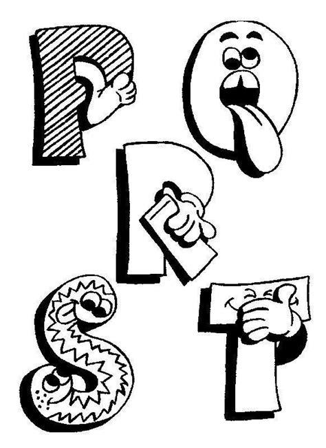 moldes letras engracadas