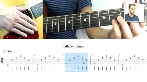 tutoriel guitare johnny halliday le penitencier