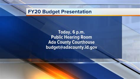 happening today county budget fiscal year
