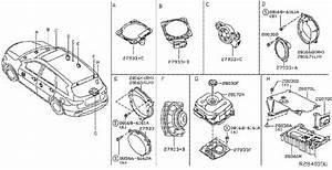 Infiniti Qx60 Speaker Screw  Inst  Engine  Electrical