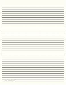Black And White Lined Paper Pictures to Pin on Pinterest ...