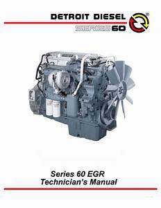 Detroit Diesel 60 Egr Series Troubleshooting Guide