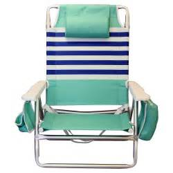 nautica beach chair with cooler cup holder shoulder