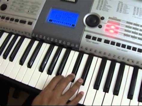 play  keyboard telugu abhinandana eduta neeve song