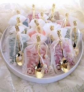 shabby chic tea favorstea spoon party ideas With wedding shower party supplies