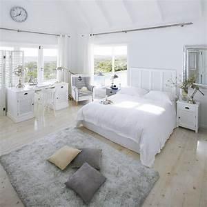 Lit Maison Bois : t te de lit 160cm barbade maisons du monde chambres ~ Premium-room.com Idées de Décoration