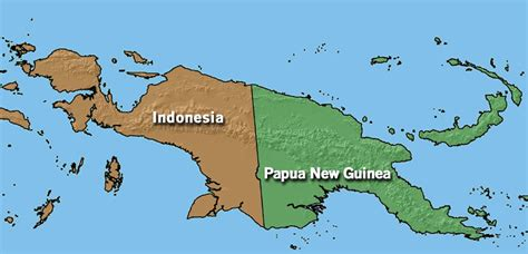 world team papua current maps  papua