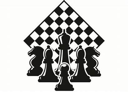 Chess Clipart Chessboard Pieces Setup Board Competition