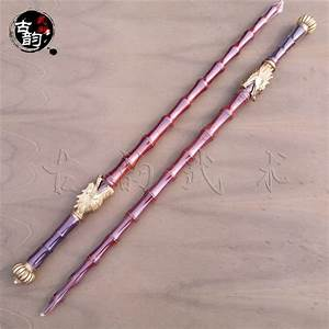 Brand new Bamboo joint wooden whips rosewood double mace ...