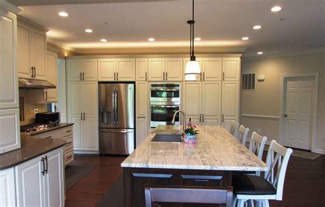 spacious kitchen remodel  urbana talon construction