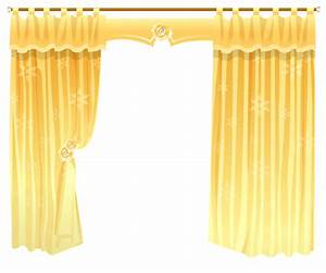 Yellow curtains transparent png clipart gallery for Yellow curtains png