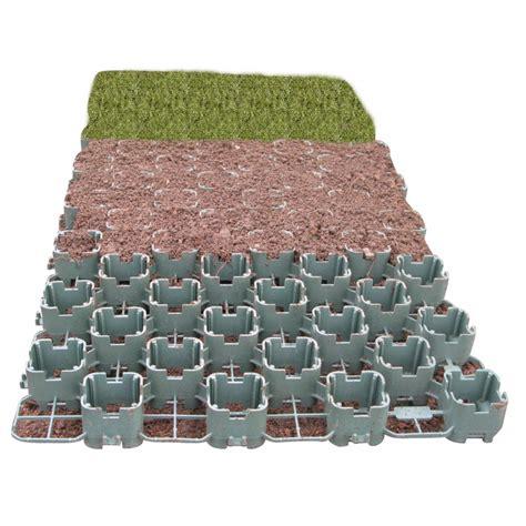 dalle a engazonner dalle a engazonner en plastique 40 x 80 cm chez jardin et saisons