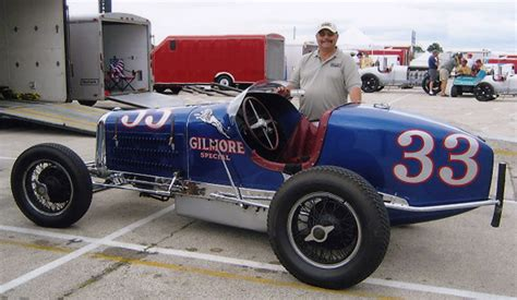 rare  gilmore special miller indy race car